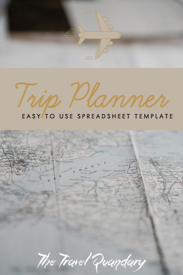 Pin Photo: Ultimate Trip Planner Template