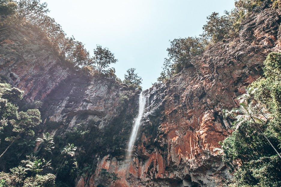 Twin Falls, Springbrook National Park, Gold Coast, Queensland