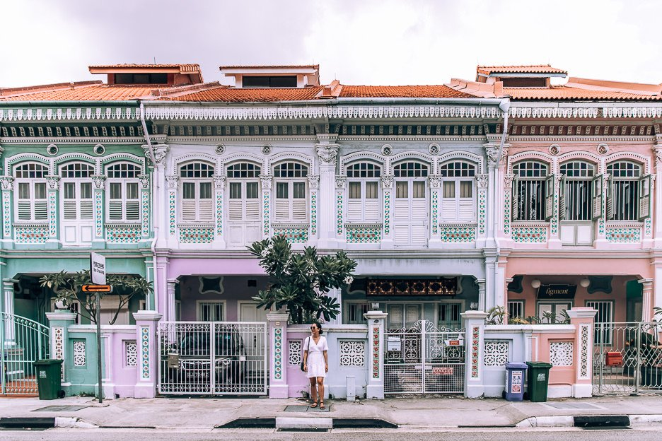 Peranakan Houses in Katong/Joo Chiat district | What To See in Singapore