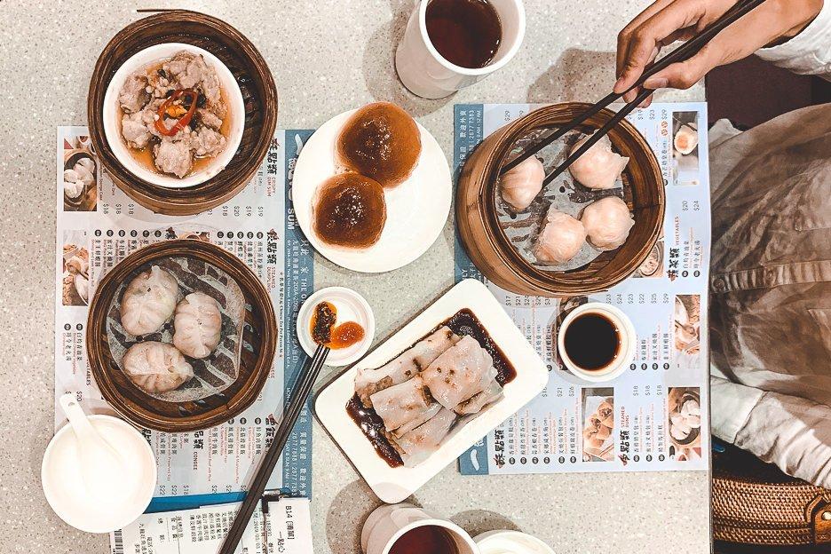 Favourite dim sum taken at One Dim Sum, Hong Kong dim sum restaurant