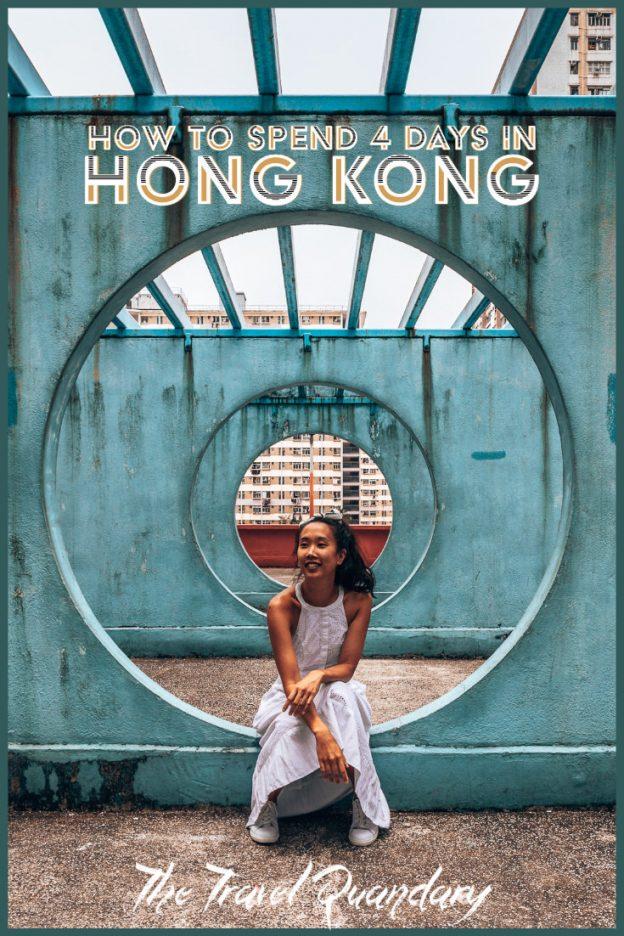 Pin to Pinterest: 4 Days in Hong Kong Travel Itinerary
