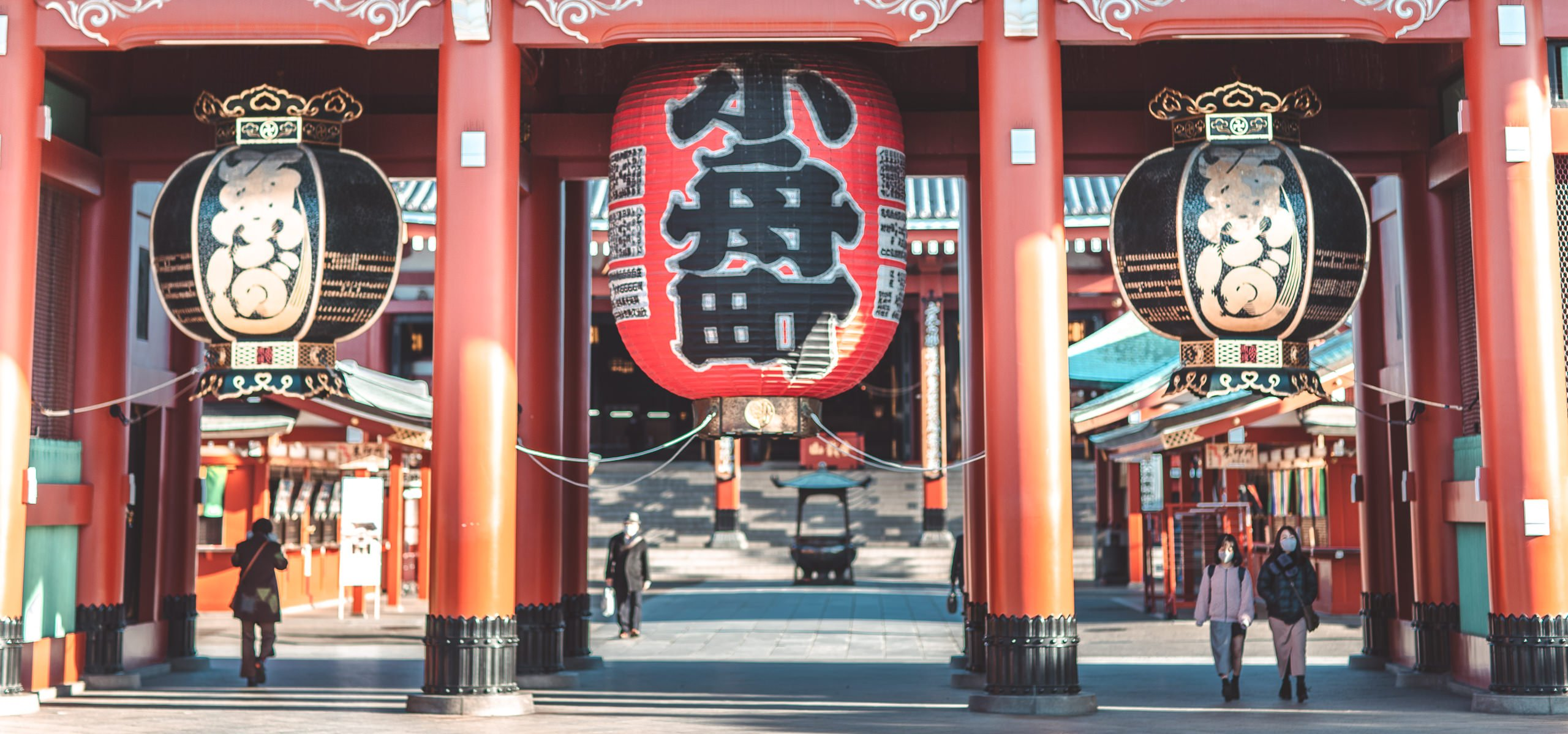Hozomon Gate at Senso-ji temple | Asakusa Tokyo