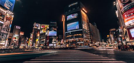 Shibuya Crossing by Night | Neighbourhood Guide Shibuya Tokyo
