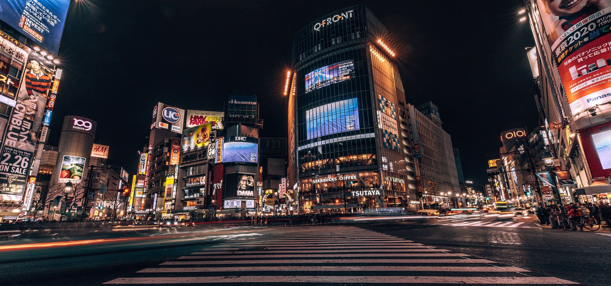 Shibuya Crossing by Night | Neighbourhood Guide Shibuya Tokyo