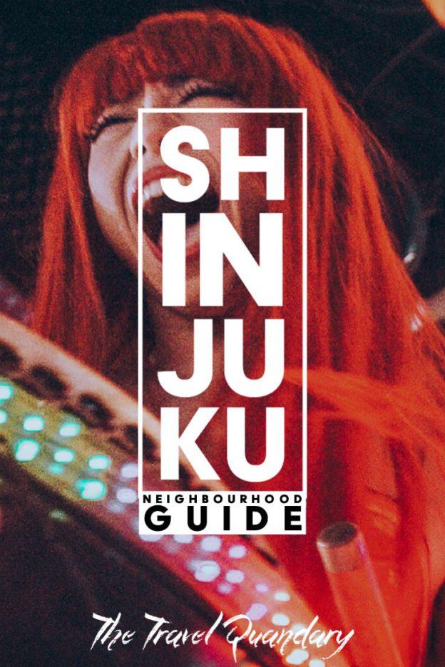 Pin to Pinterest: Shinjuku Tokyo