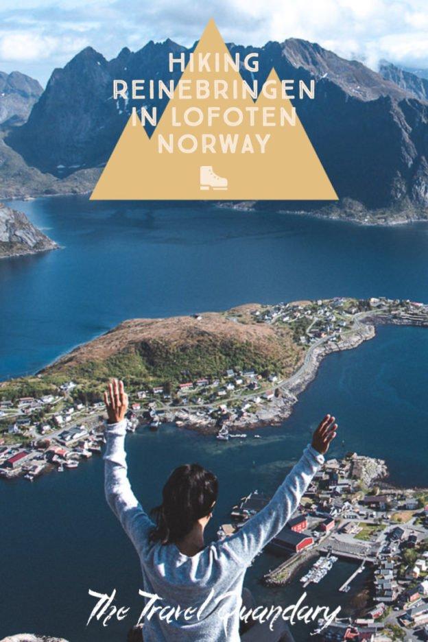 Hiking Reinebringen in Lofoten Norway: A story of overcoming mud and FOMO | hiking reinebringen 4