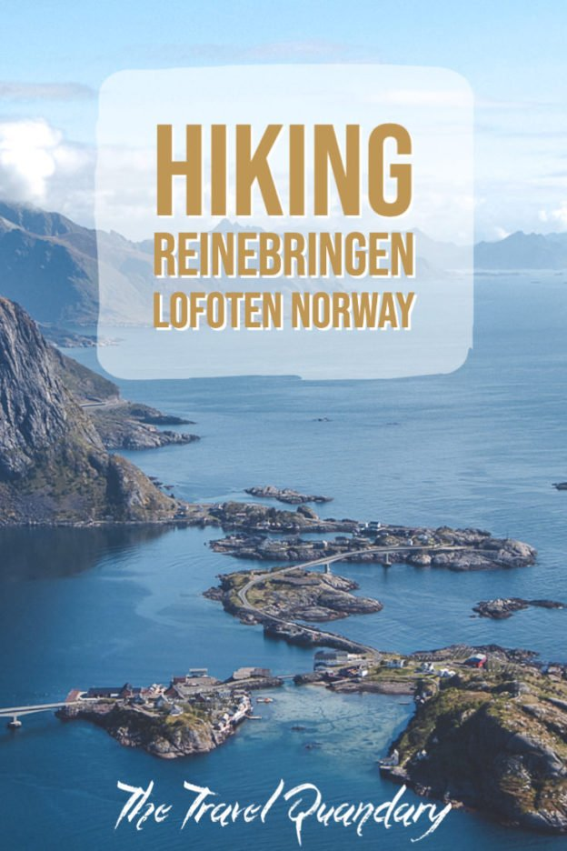 Hiking Reinebringen in Lofoten Norway: A story of overcoming mud and FOMO | hiking reinebringen 5
